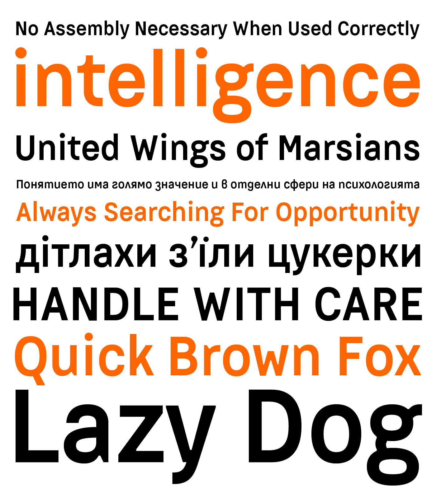 Neo Grotesque Typeface font typo swiss titling Headline web font