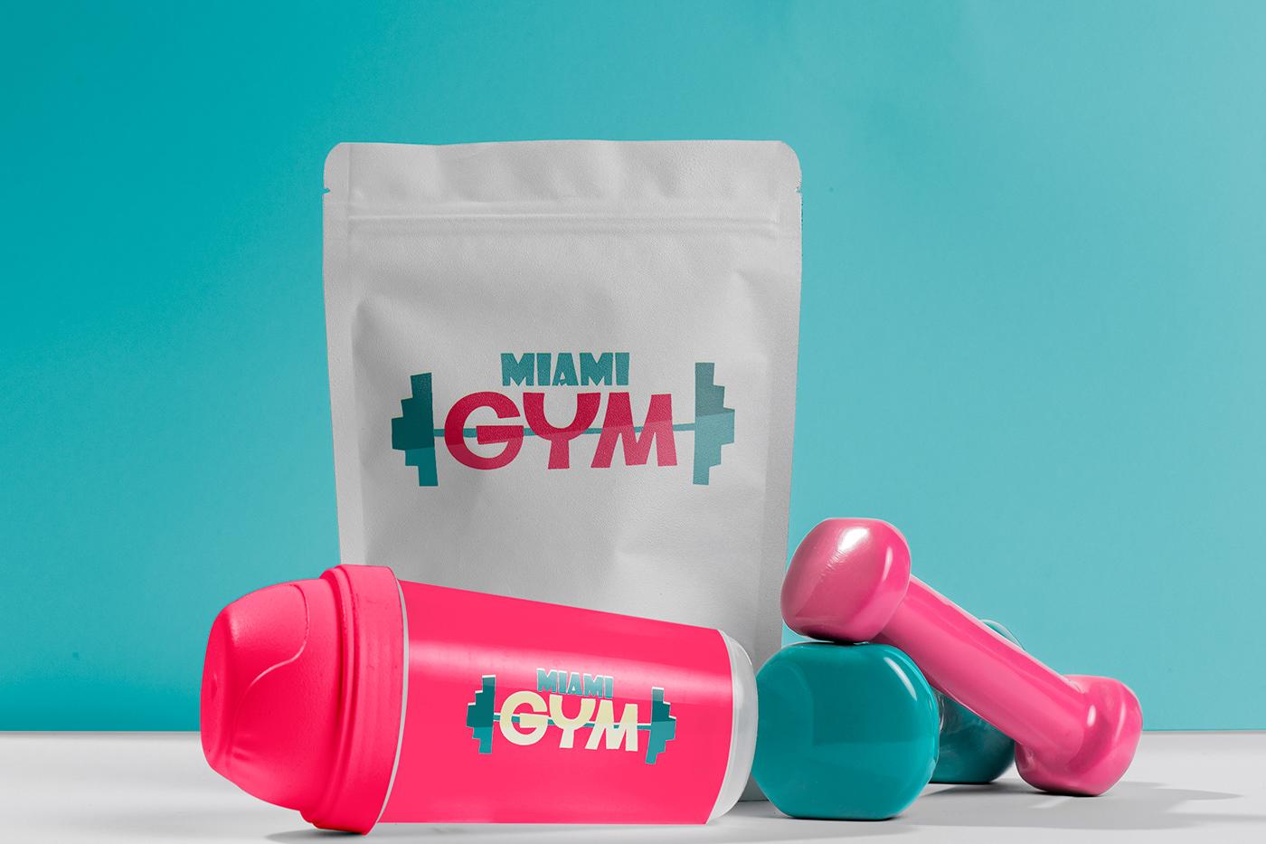 brand gym identity logo sport