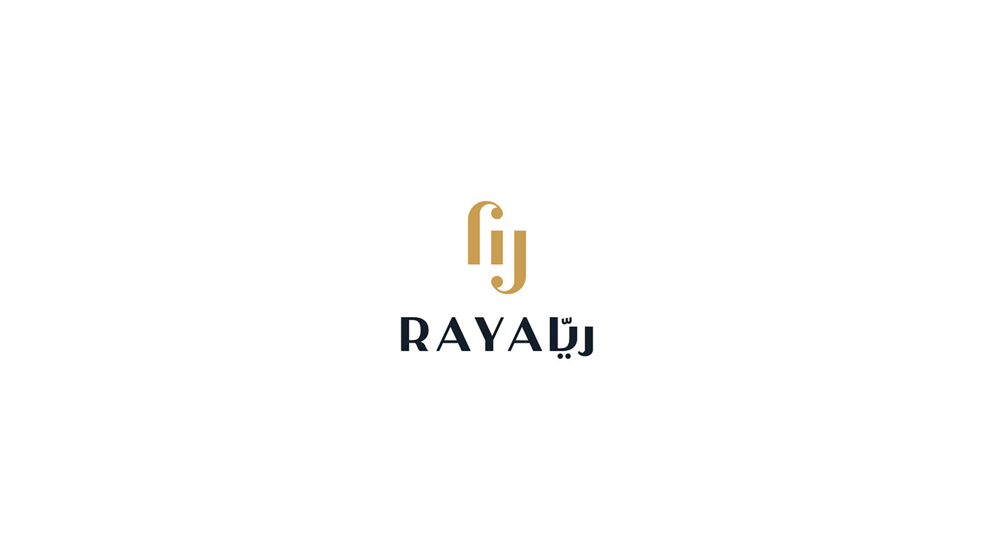 raya logo design corporate branding  brand identity ambigram