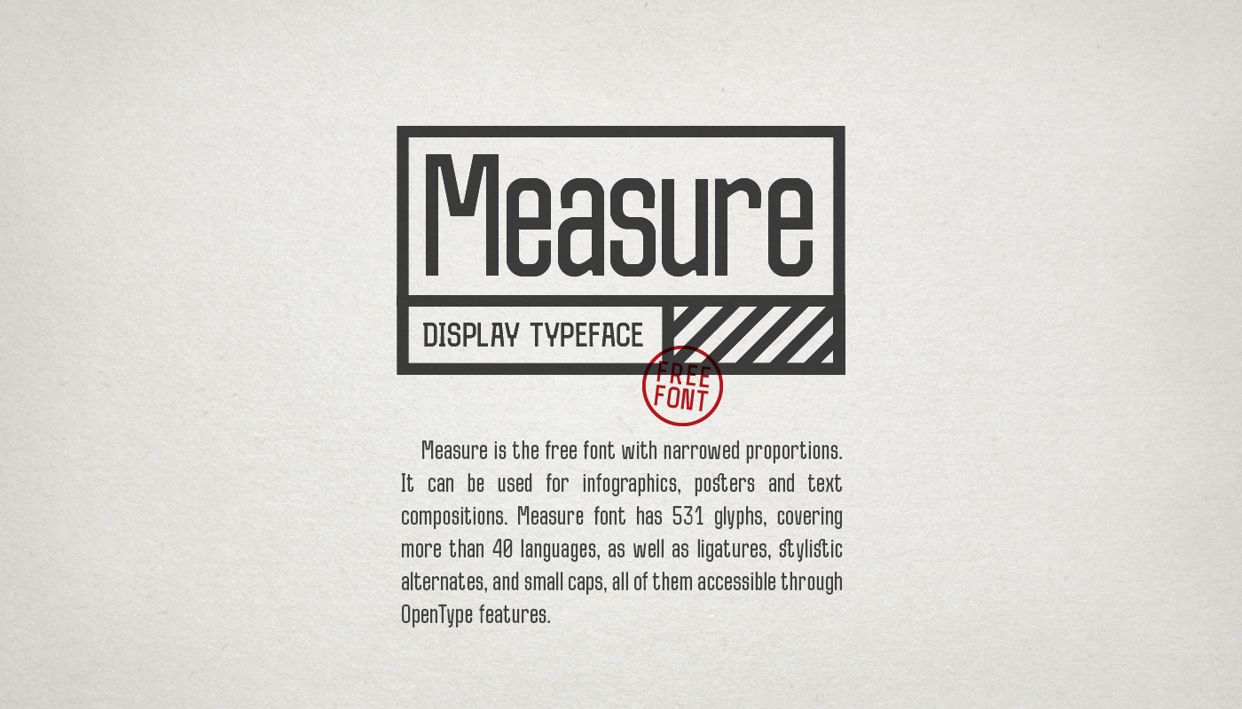 Measure Font Download