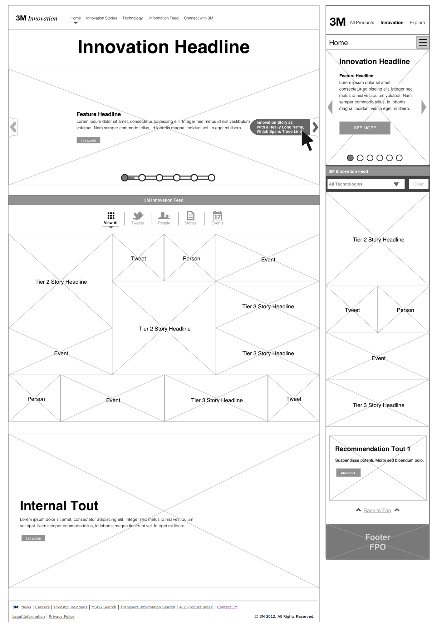 3m innovation The third point in 3m's innovation method i want to address in this paper is that the company's integration of its innovation creativity process and outcomes according to the case study material, the 3m company figures out ways to involve its consumers in the innovation process, this indicates that the company looks upon to linking its.