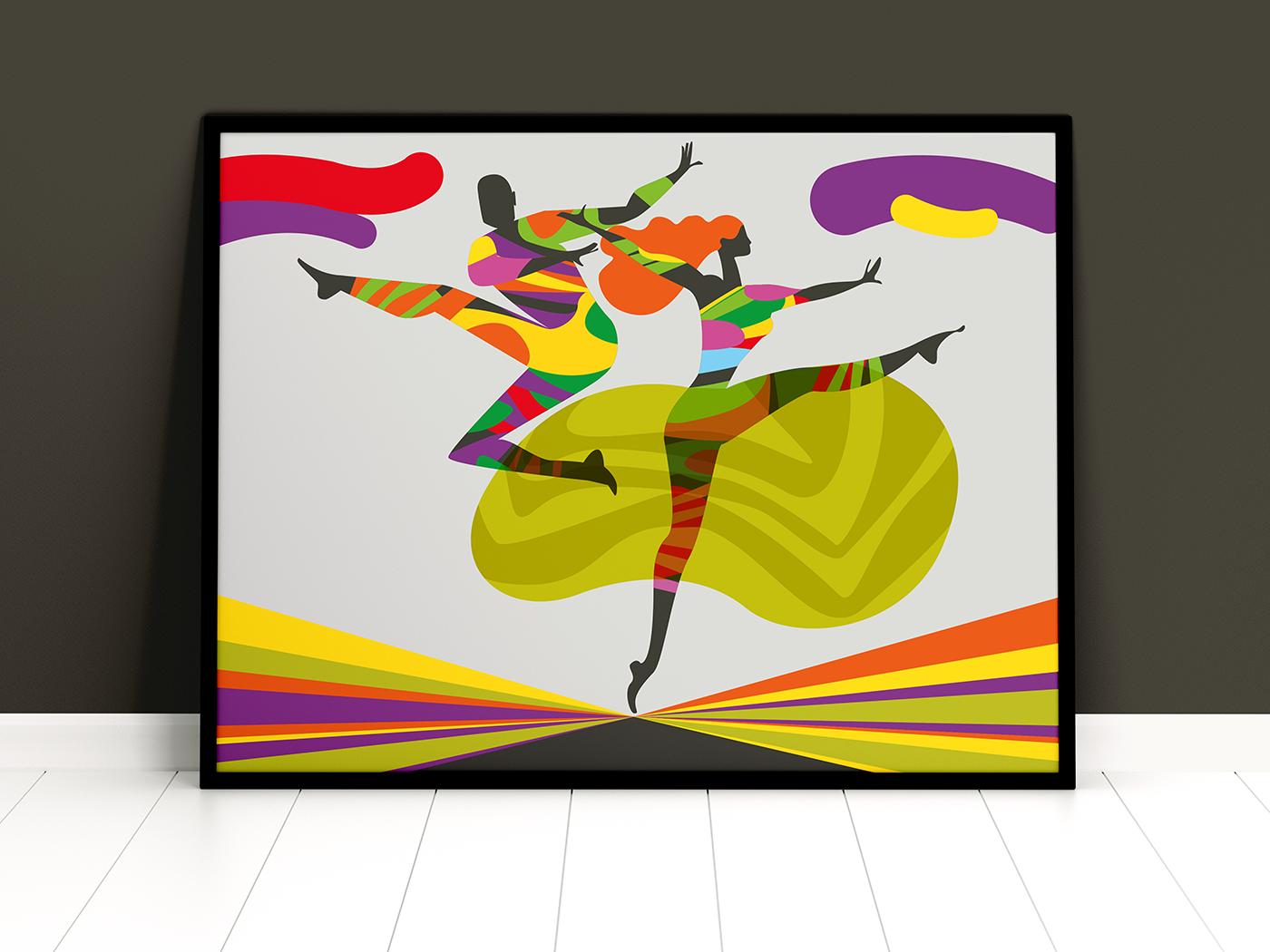conceptual concettuale flat Illustrator Vectorial vettoriale