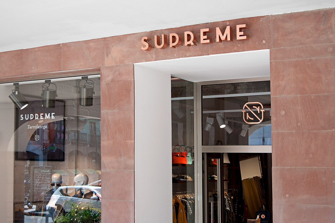 Fashion  boutique Clothing copper