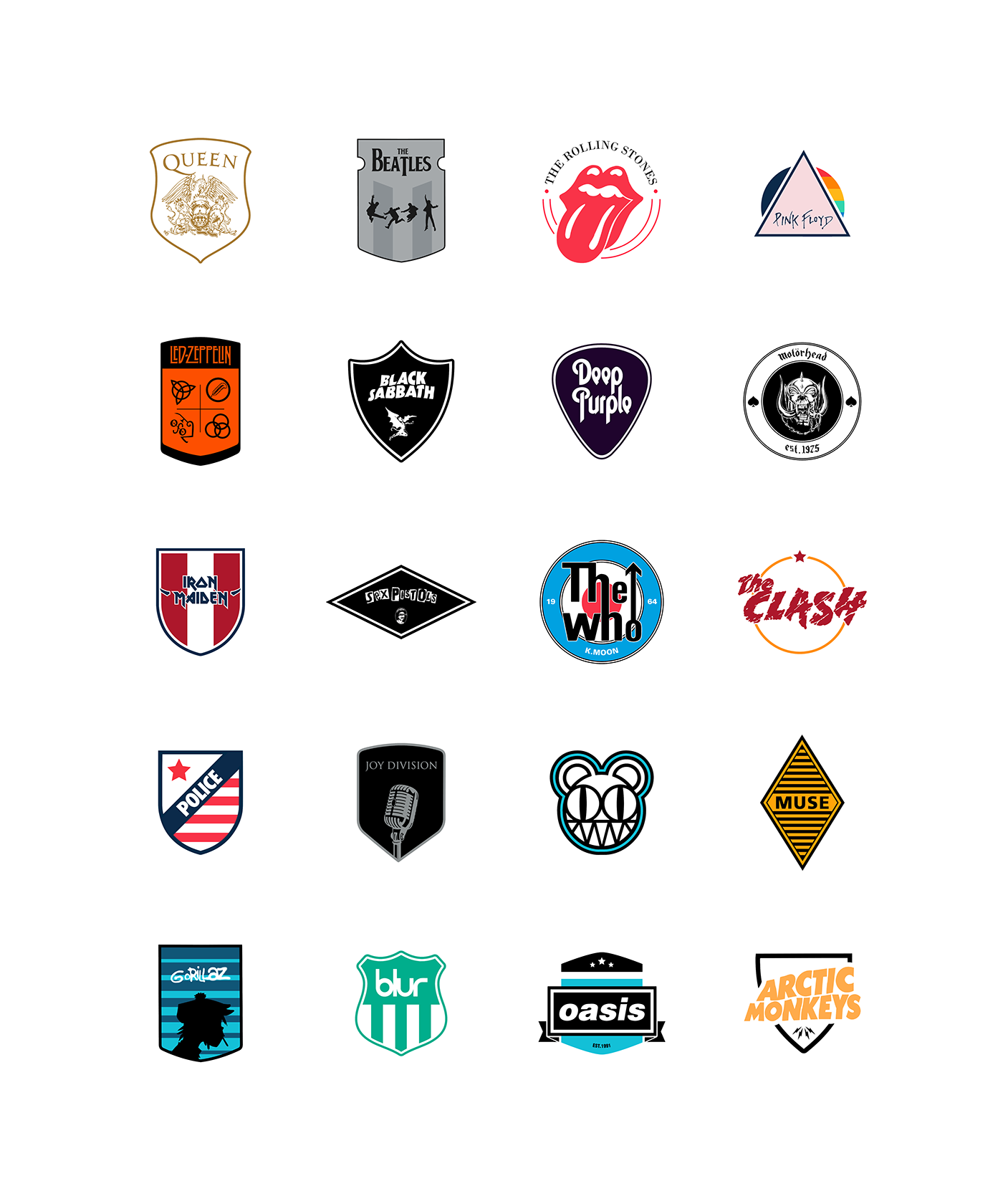 Premier League football soccer rock sports uniform uniforme Badges Escudos futebol