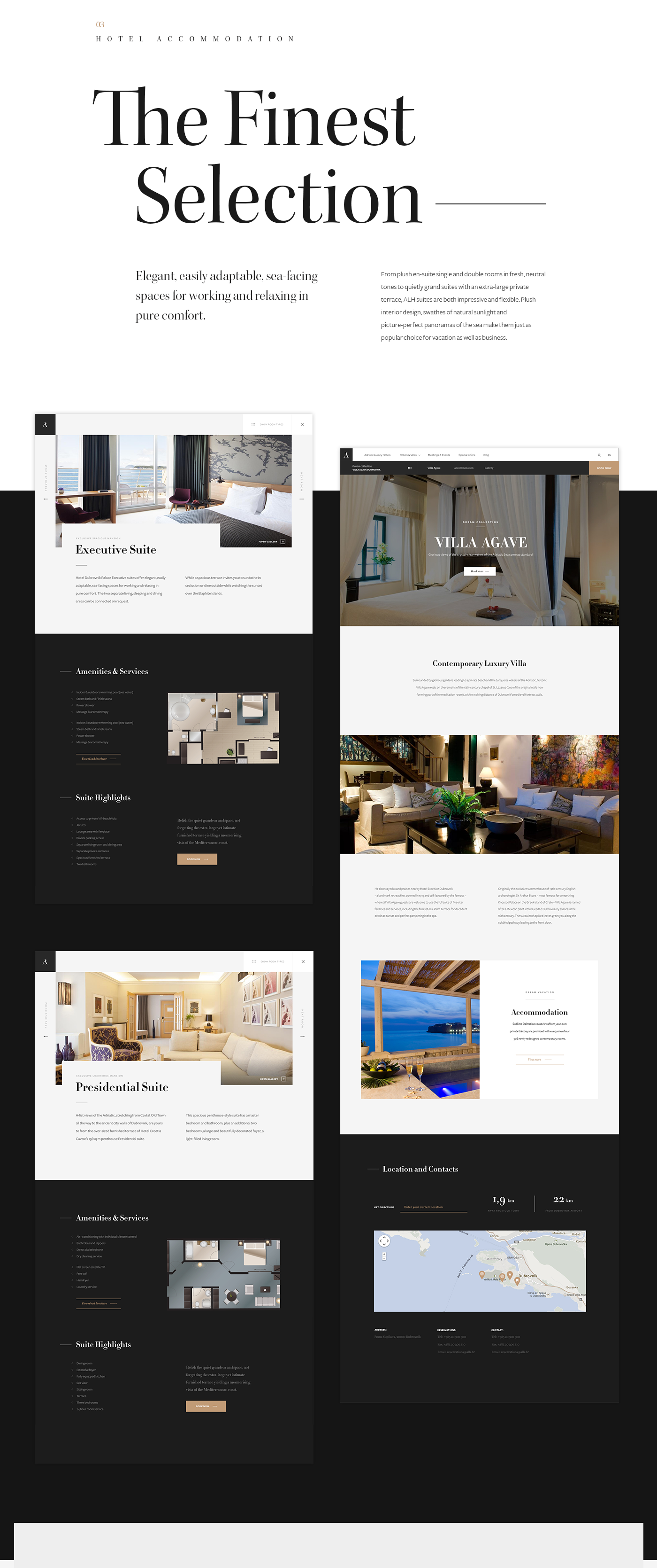 Web UI ux minimal hotel tourism Travel Booking clean