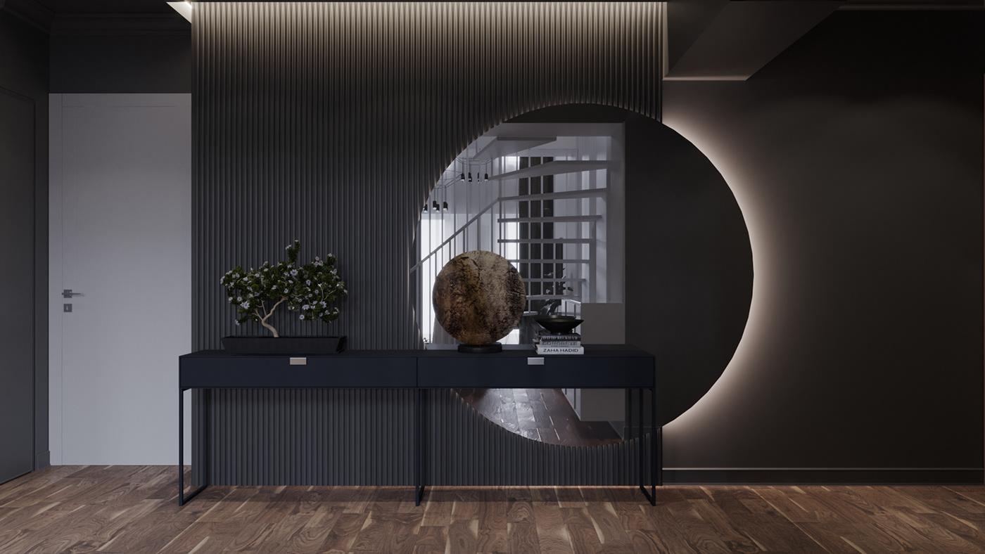 decor design details Interior living penthouse