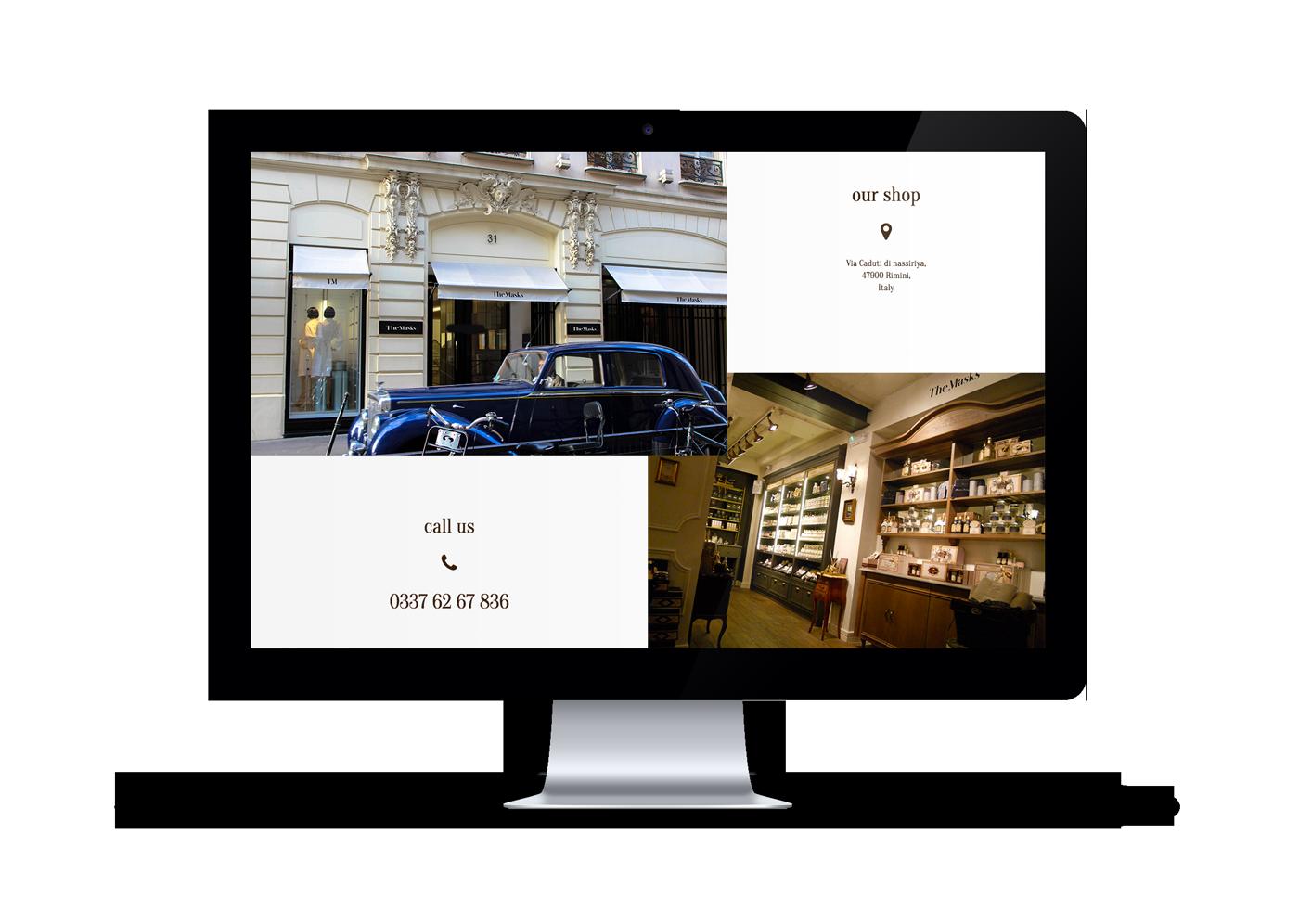 simple modern rwd Responsive Web page app corporate company business brand mark typo monogram minimalistic