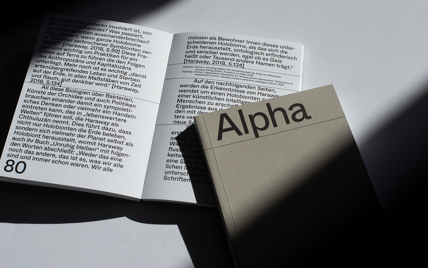 Alpha Epsilon, Cover and Content