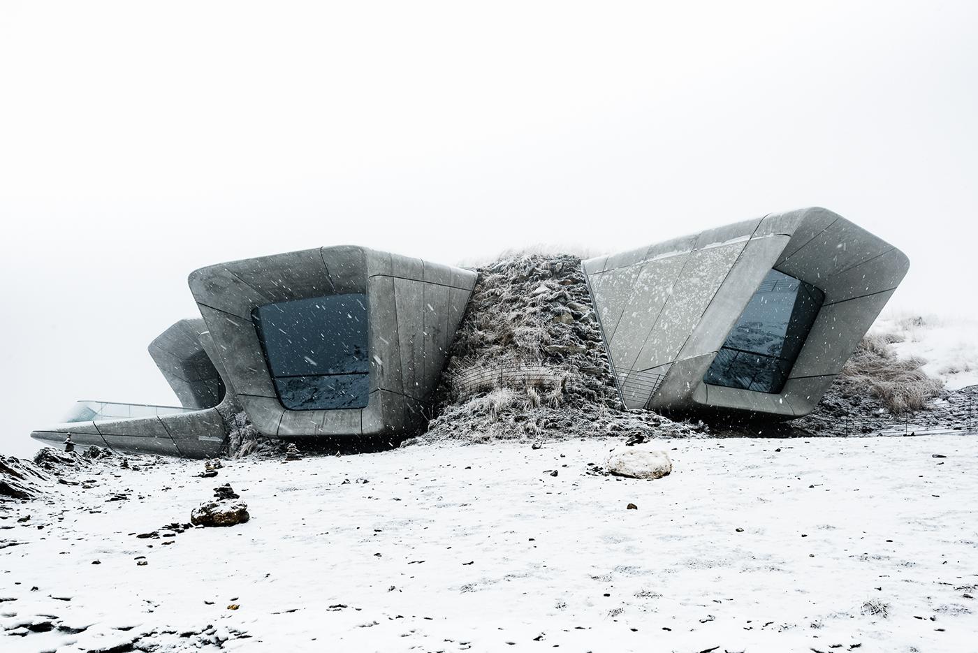 Messner Museum Kronplatz On Behance