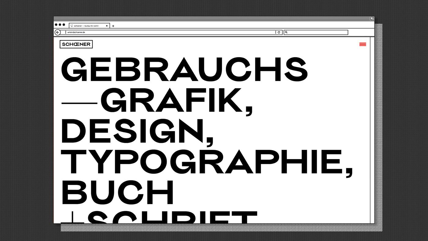 design typography   Website Webdesign Brutalism graphic design  type Typeface screen portfolio