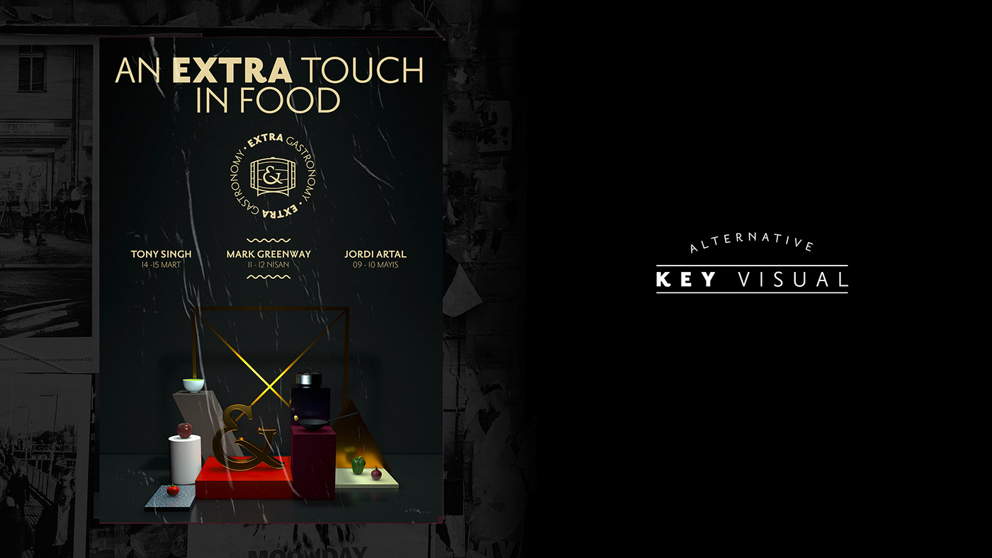 extra gastronomy Food  Event chef Culinary