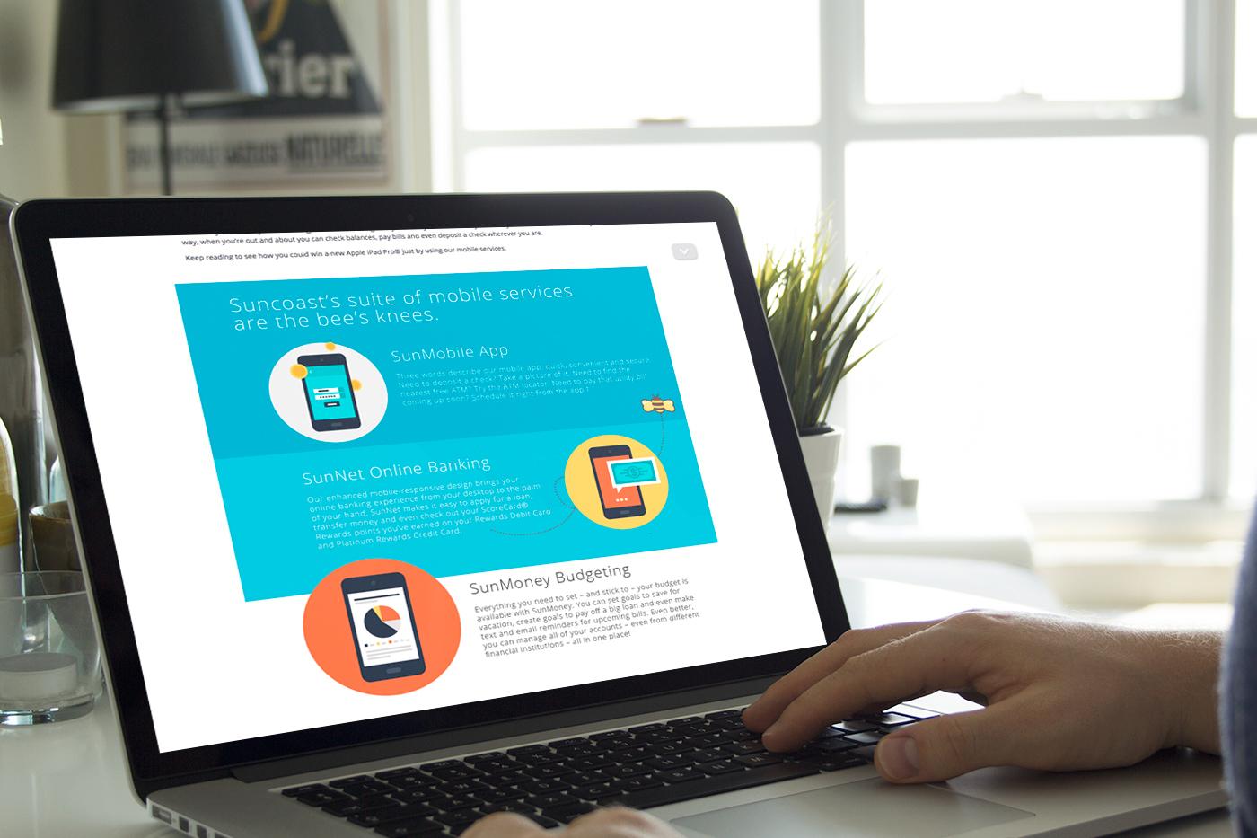mobile Responsive Mobile Engagement Email Design Suncoast Credit Union