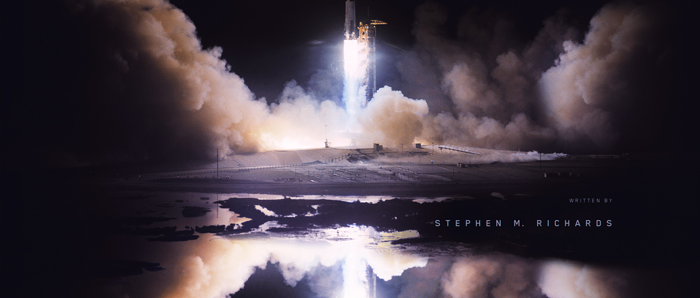 title design title sequence narrative Space  styleframe design storytelling   Photobashing