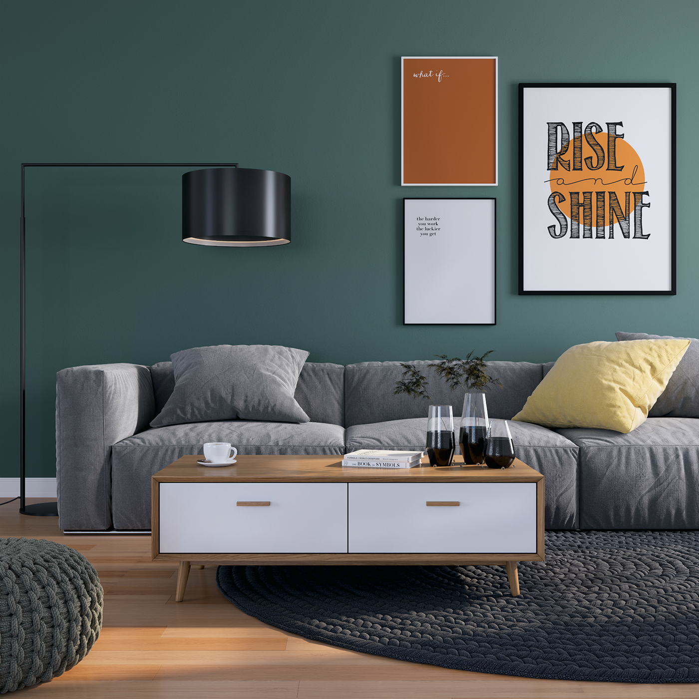 Furniture Catalog Online: 3d Renderings For A Furniture Catalog On Behance
