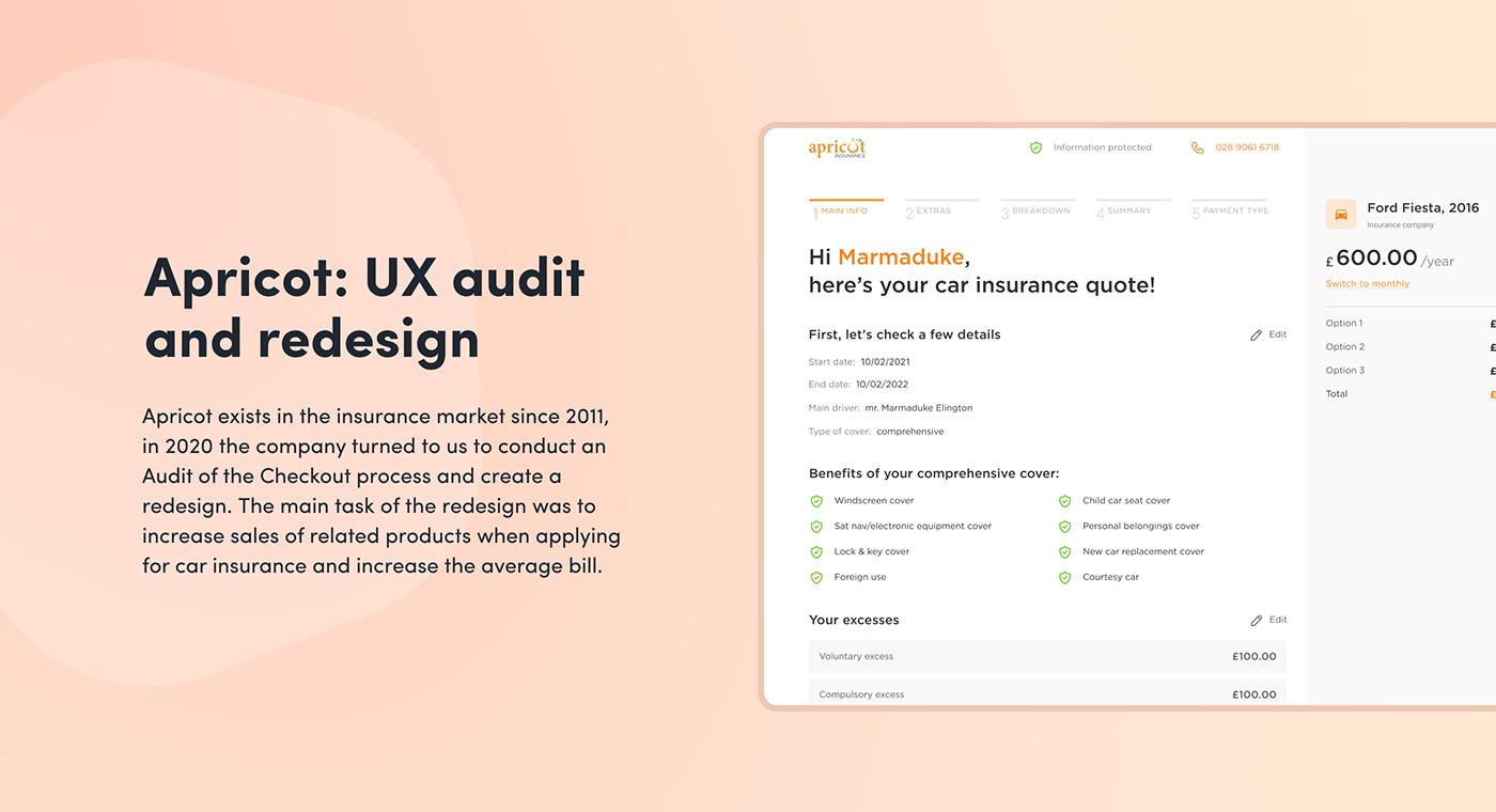 experience design insurance redesign Responsive Design ui design UI/UX UX design UX Research visual design Web Design