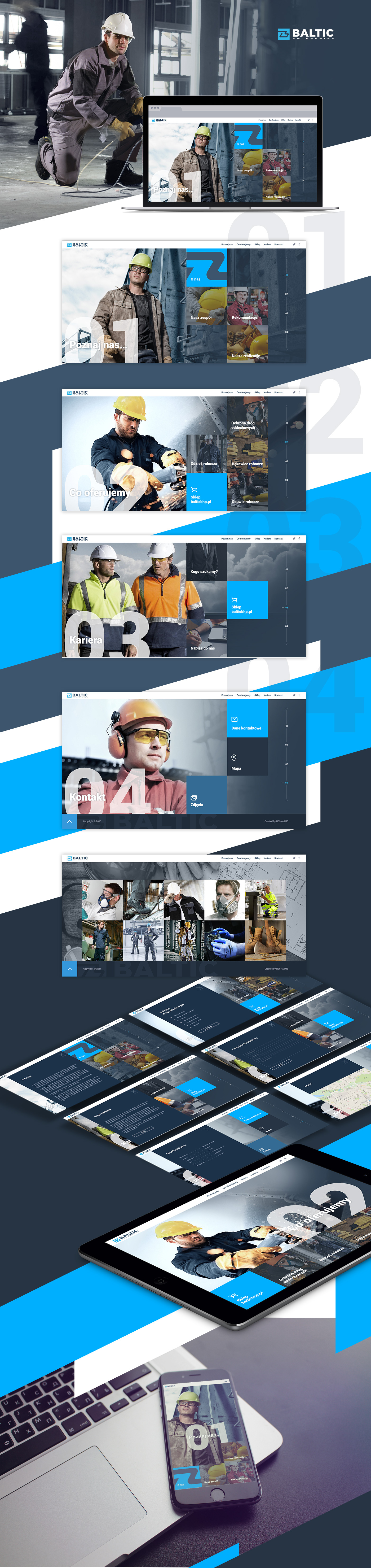 corporate website Webdesign metro style metro design rwd