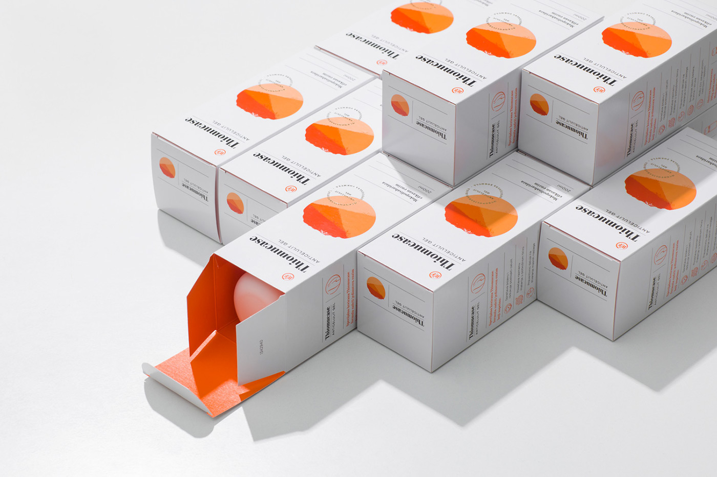 優質的34款護膚品包裝設計欣賞