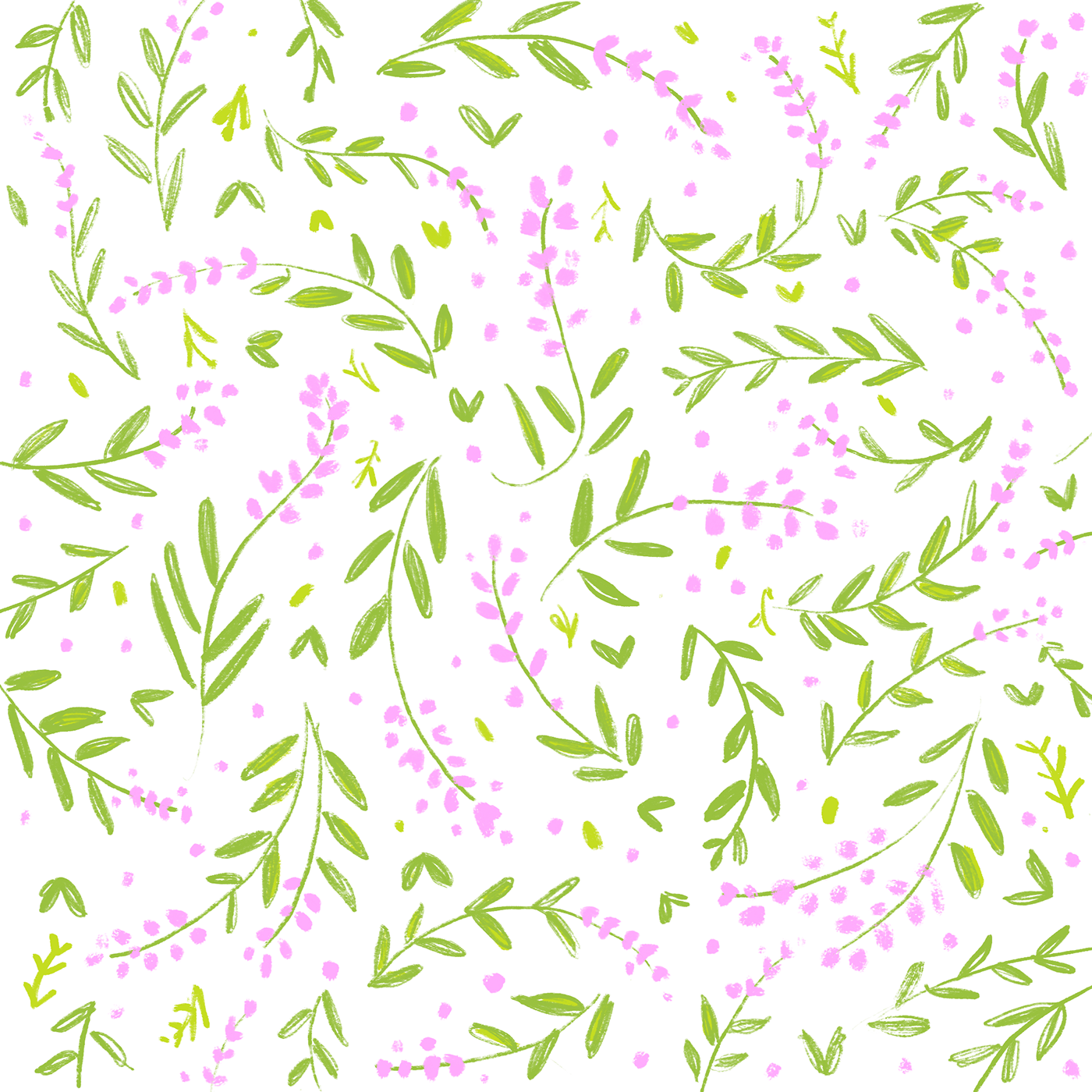 Bright and Bold - Summer Floral Pattern Design on RISD ...