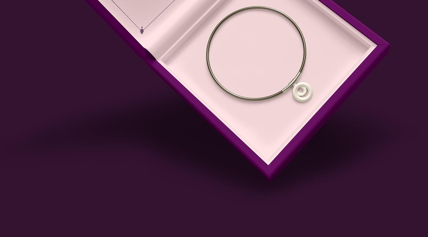 brand identity diamond  Jewellery jewelry logo luxury luxury logo modern