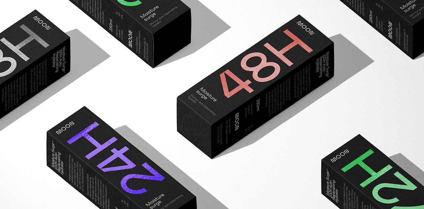 branding  Cosmetic cosmetics dermatology moon skin skincare