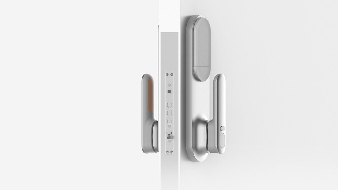 Smart Door Lock on Behance