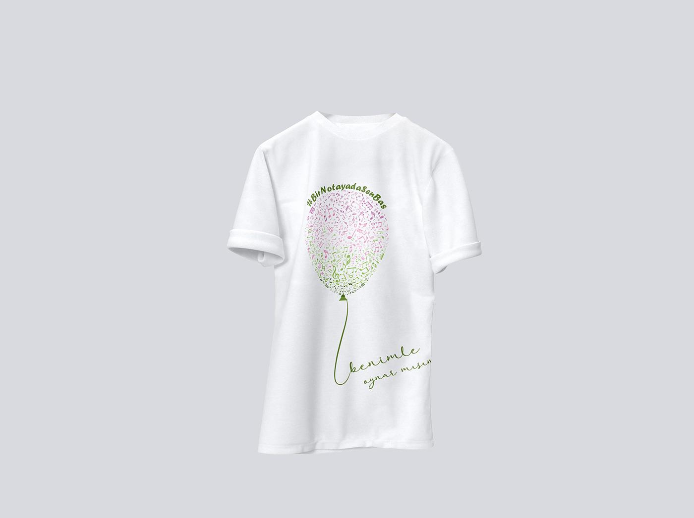 T-Shirt Design t-shirt Fashion  tasarim ILLUSTRATION  design moda video Photography  Mockup