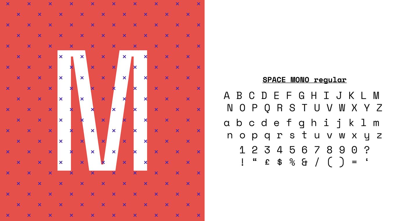 pattern typography   numbers animated identity logo monospaced google