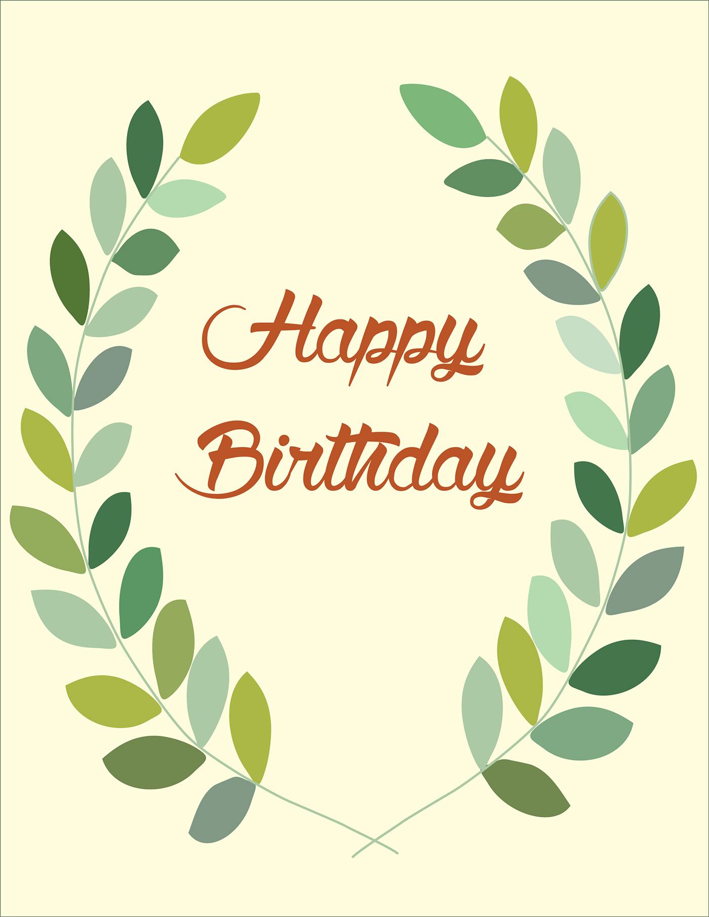 精品的24個生日卡片設計欣賞
