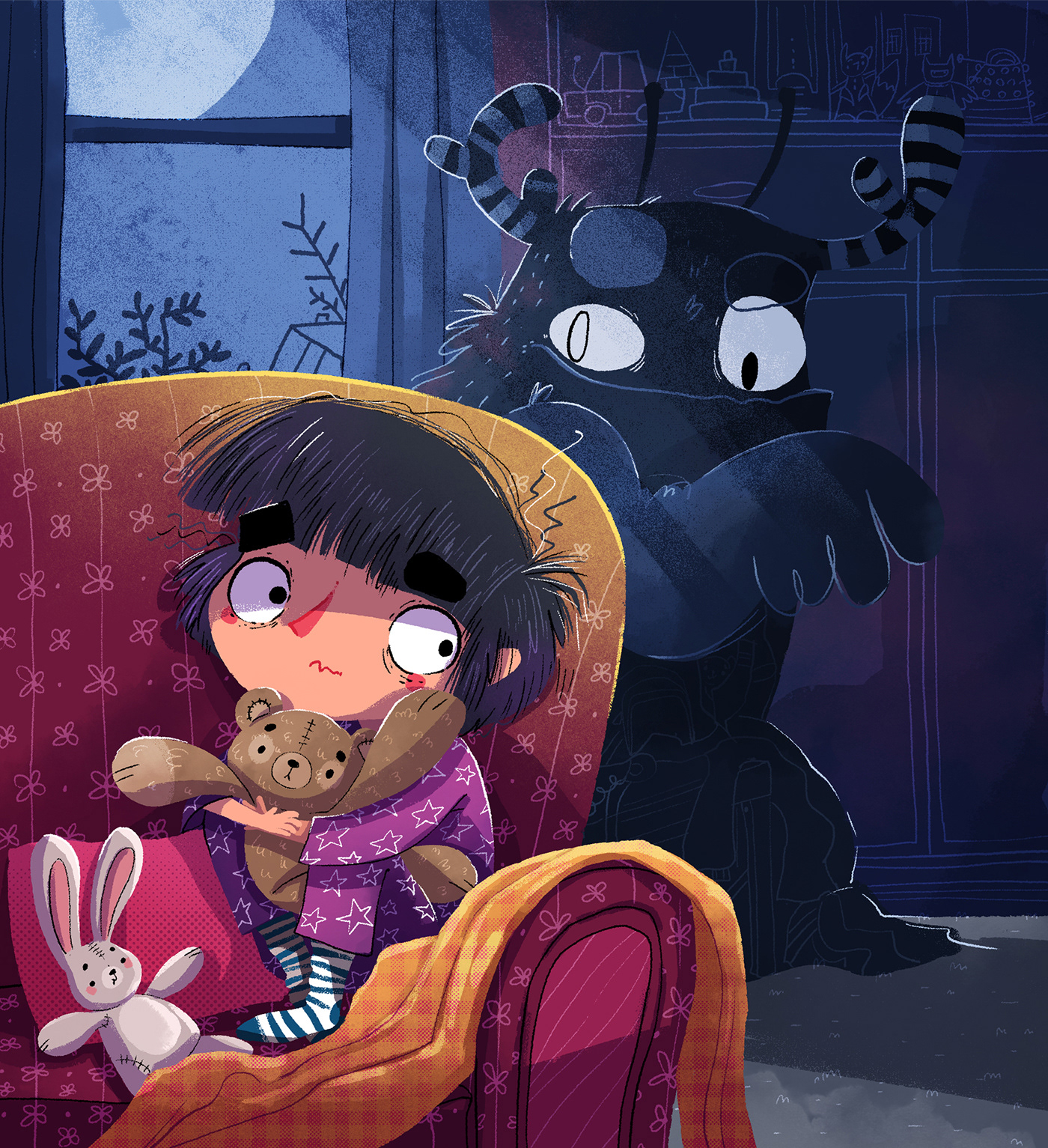 children childrenbook fear ILLUSTRATION  kidlit Kidsbook story