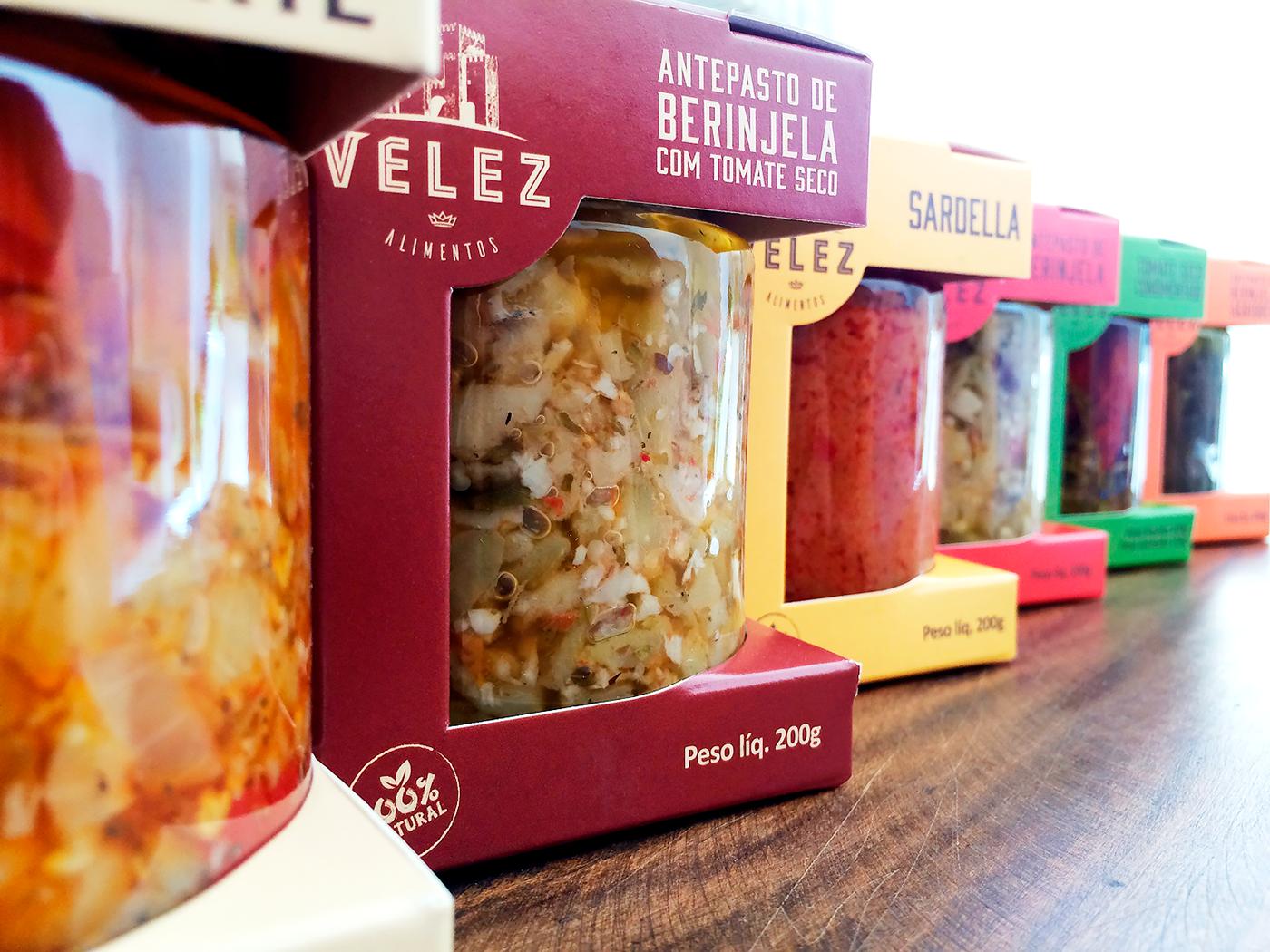 food design product packaging antepasto antipasti Salsa Packaging antipasto fresh organic natural healthy