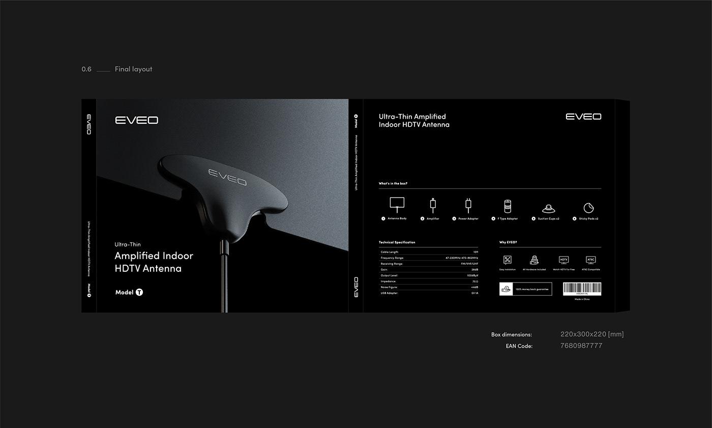 contemporary design eveo Meteora modern Packaging Technology branding  identity black