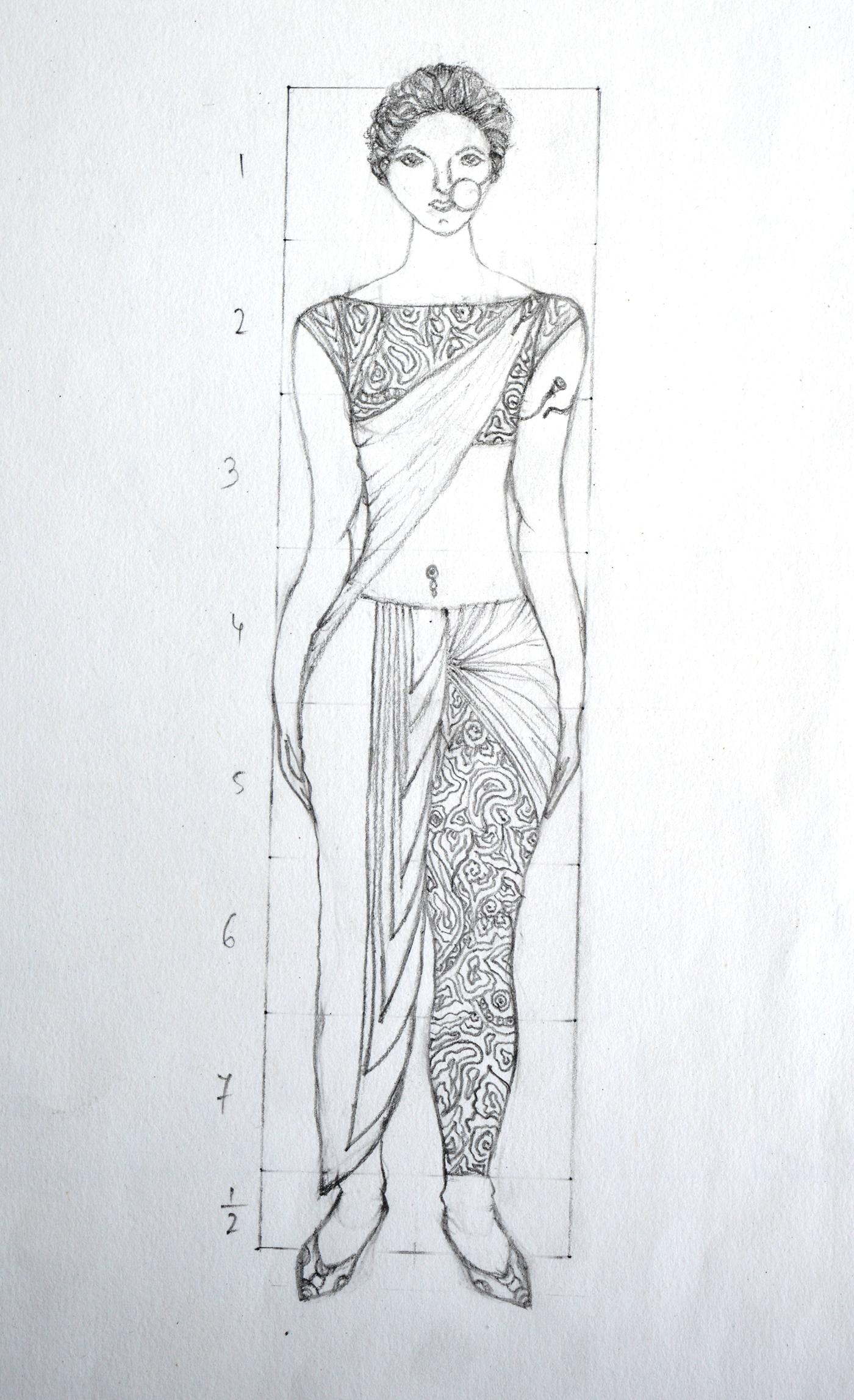 精細的35套衣服設計圖欣賞