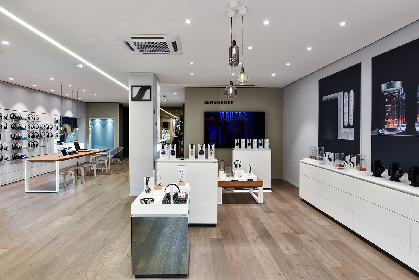 retail design sennheiser store berlin on behance. Black Bedroom Furniture Sets. Home Design Ideas