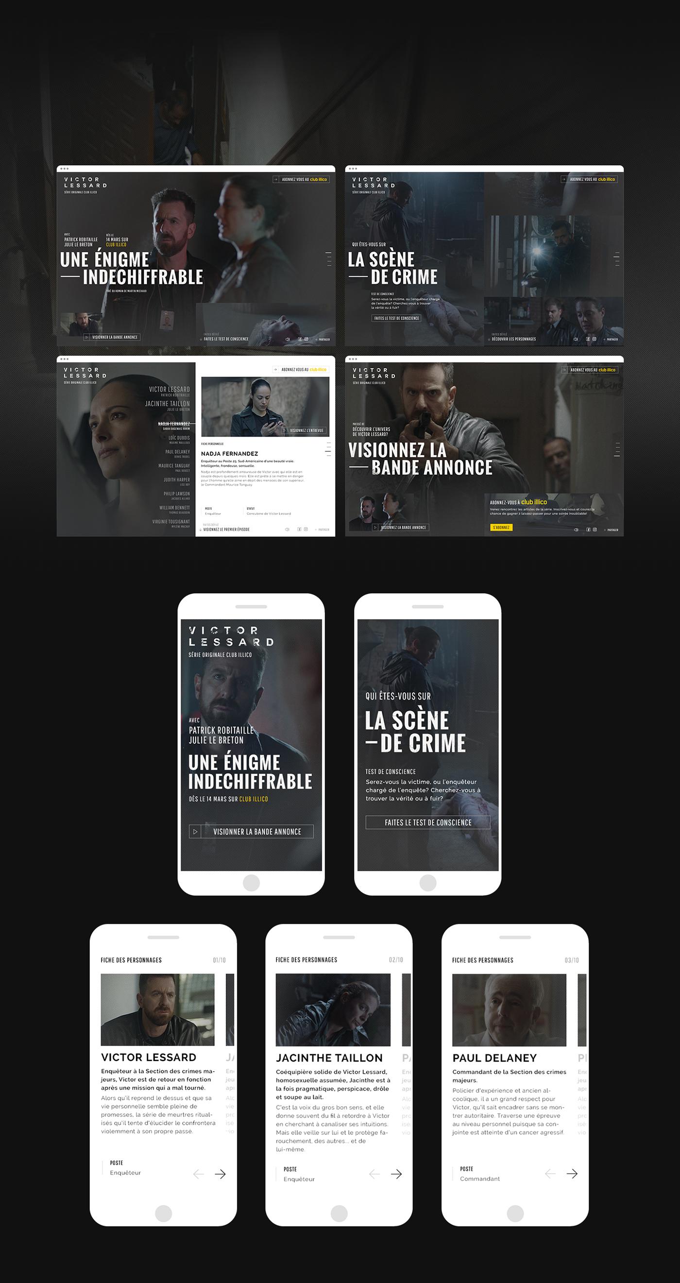 series tv tv show immersive Experience digital suspense thriller mystery police
