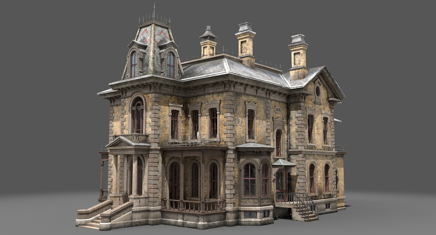 abandoned victorian house on behance