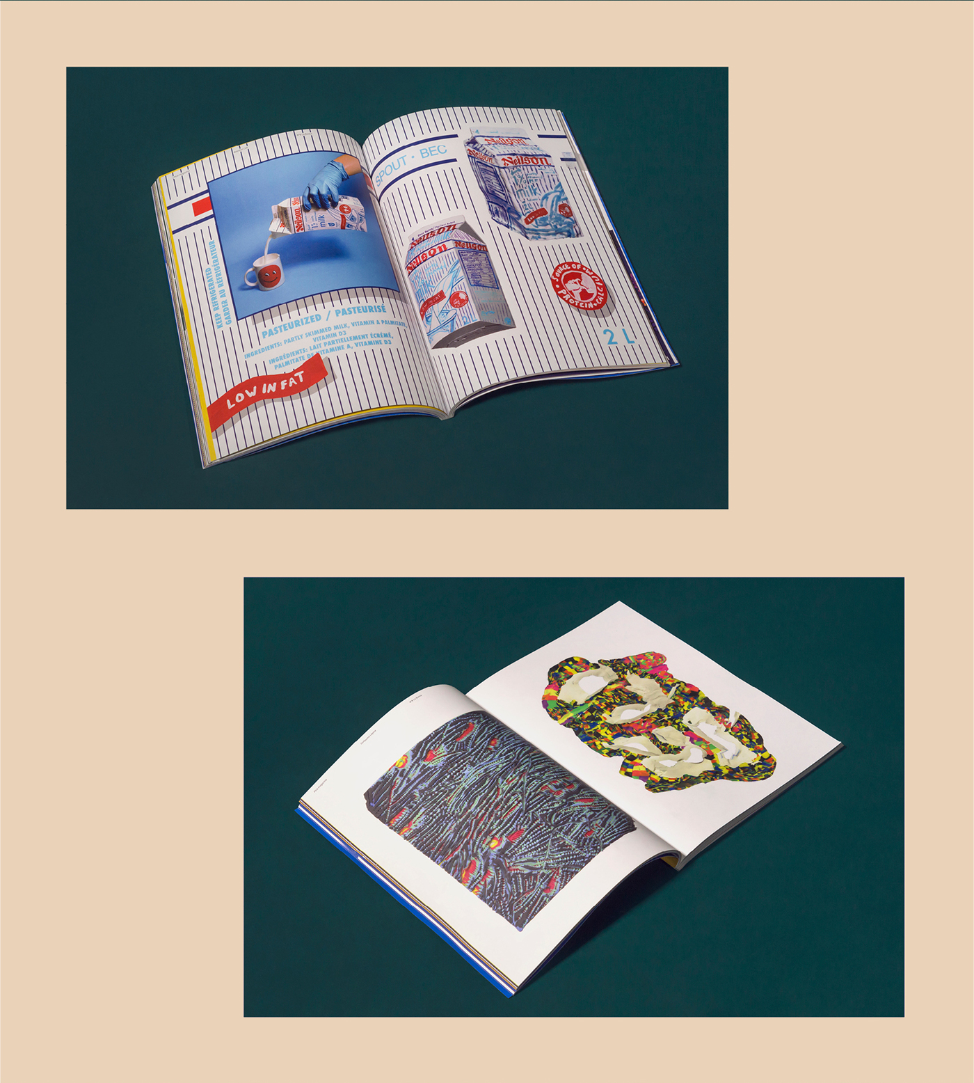 magazine typography   edition editorial book Form graphic design  Layout motion Pica