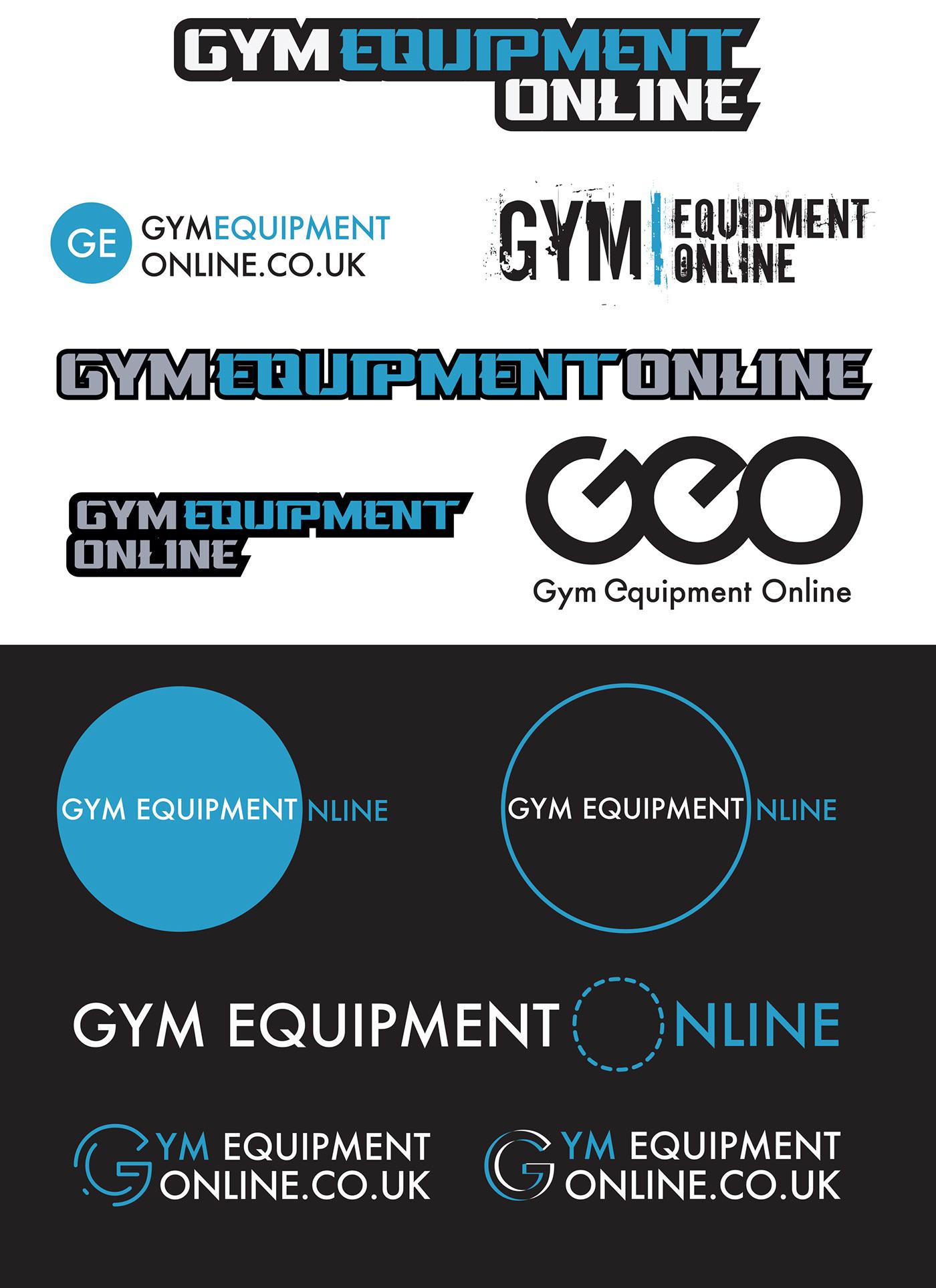 branding  concept design fitness graphic design  graphics gym logo Website
