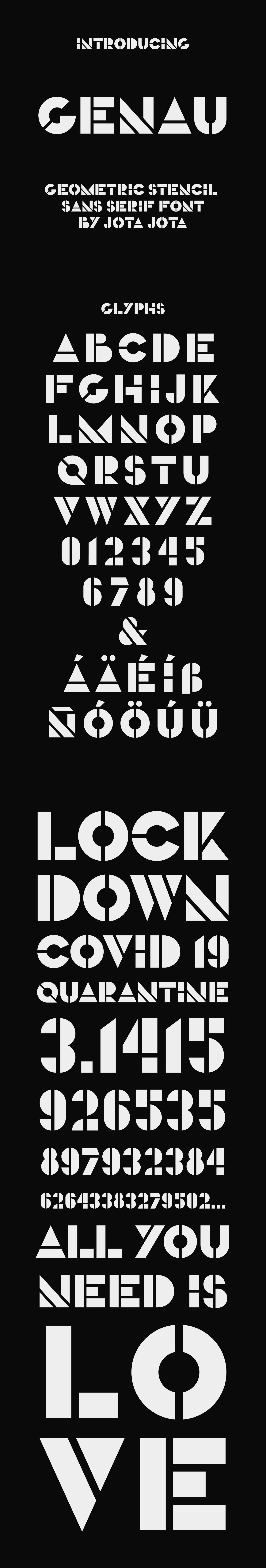 bold Display font free freebie geometric sans serif type Typeface