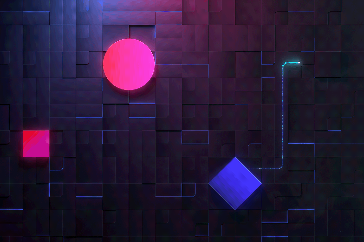 tech motiongraphics motiondesing Technology light developer Event grid neon dark