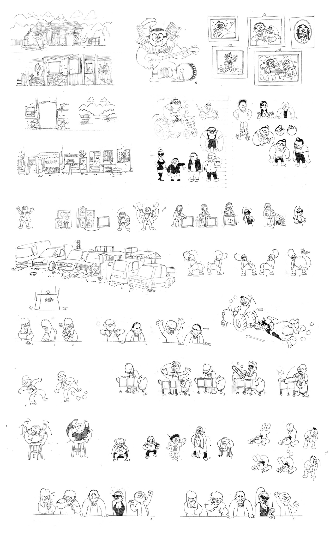 Dubioza Kolektiv rijaliti KAZU animation  2D music video