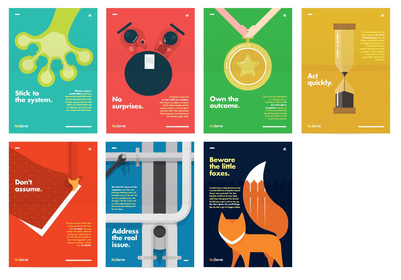 posters negative space minimal