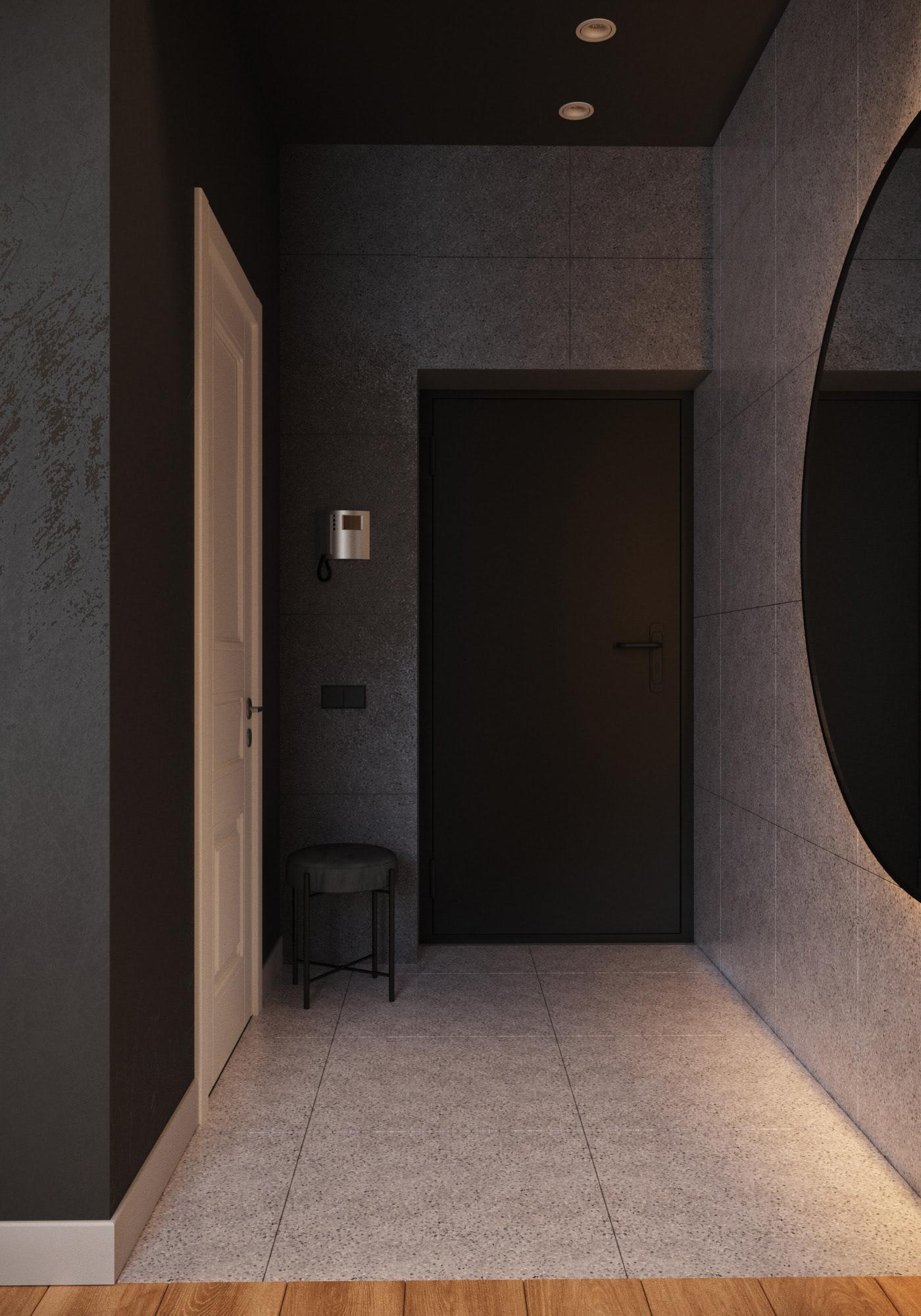 Image may contain: wall, door and bathroom