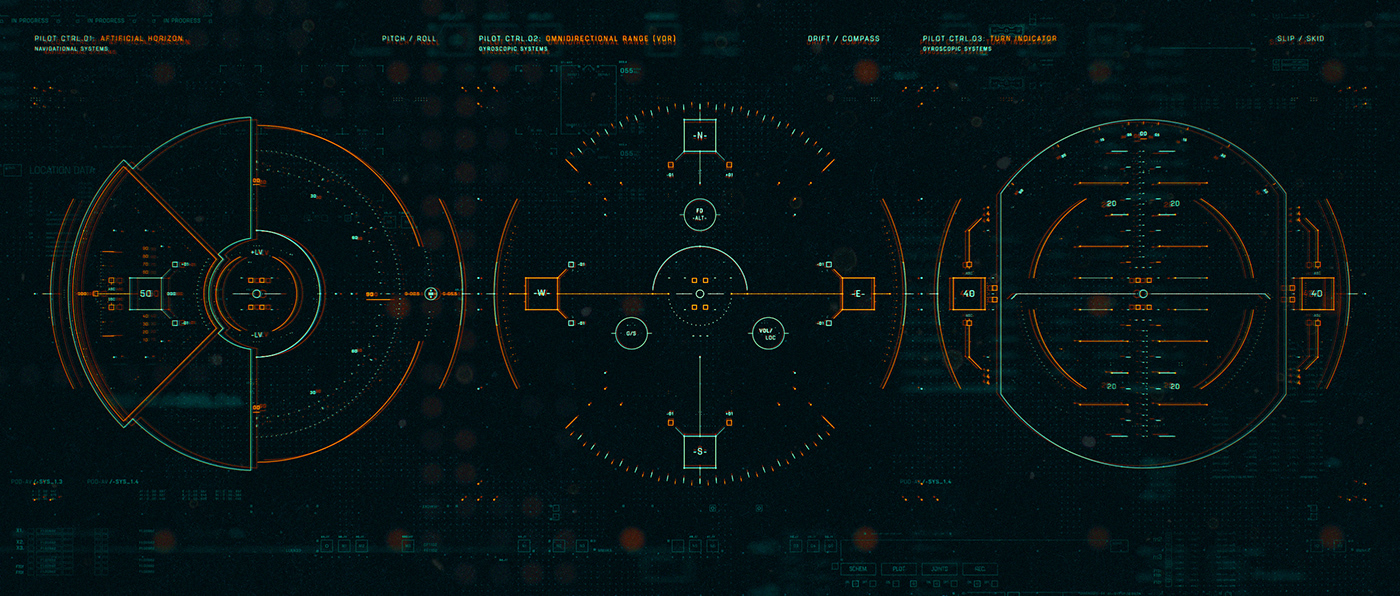FUI UI user interface tech Film   vfx design concept hologram motion graphics