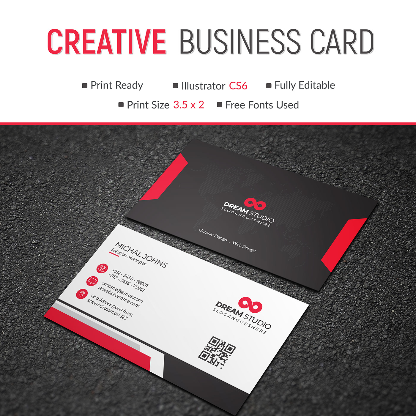 Free Business Card Template Download on Behance Throughout Free Complimentary Card Templates