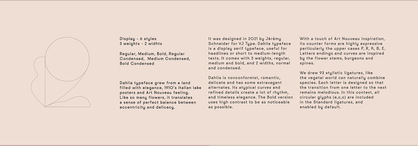 alternate flower font ILLUSTRATION  ligature rose Typeface typography   Violaine & Jeremy vj-type