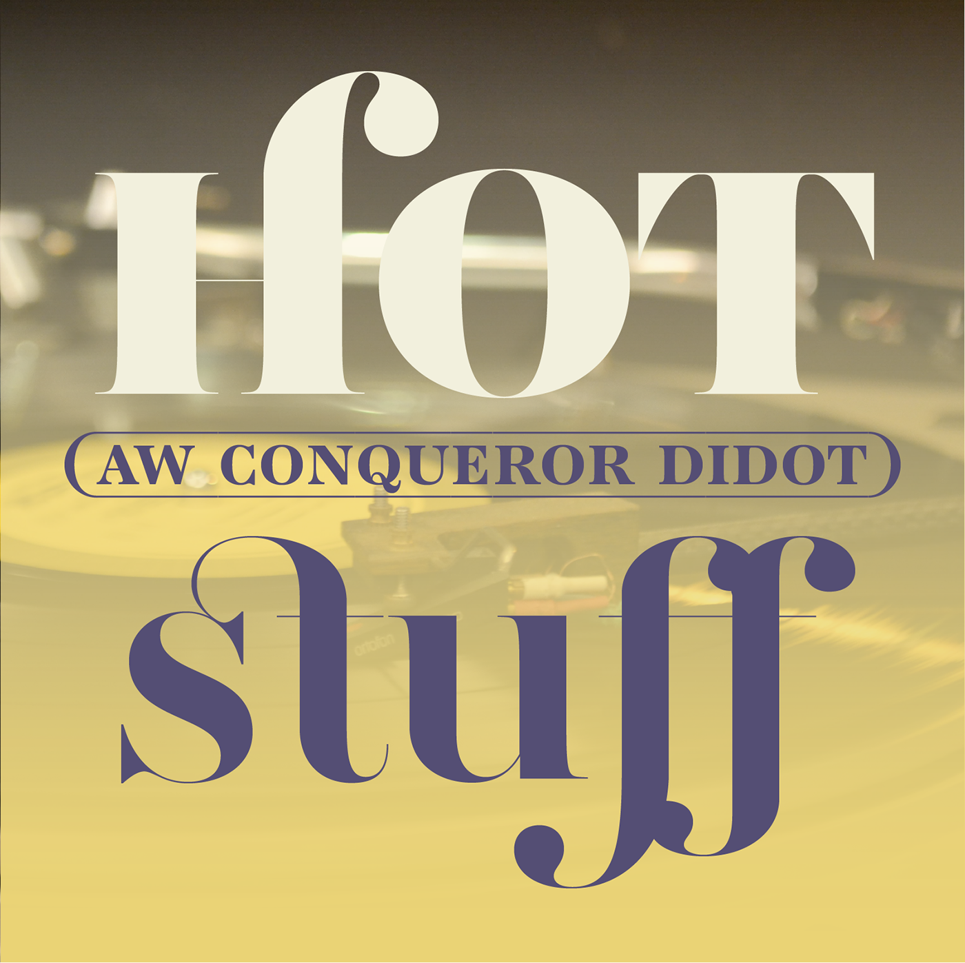 AW Conqueror Didot on Behance