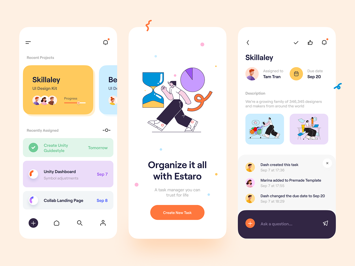 dribbble - tranmautritam - task management