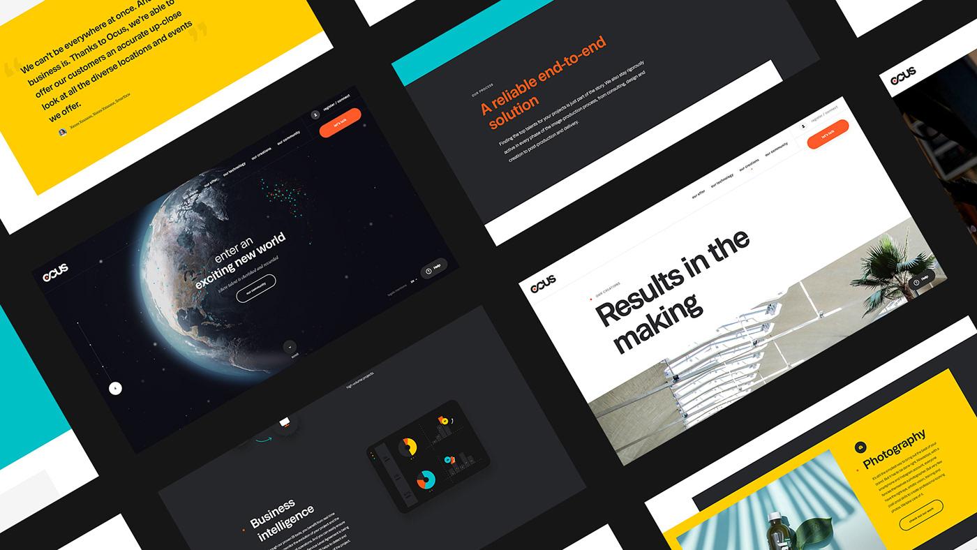 ux Interface identity branding  pictogram Website content