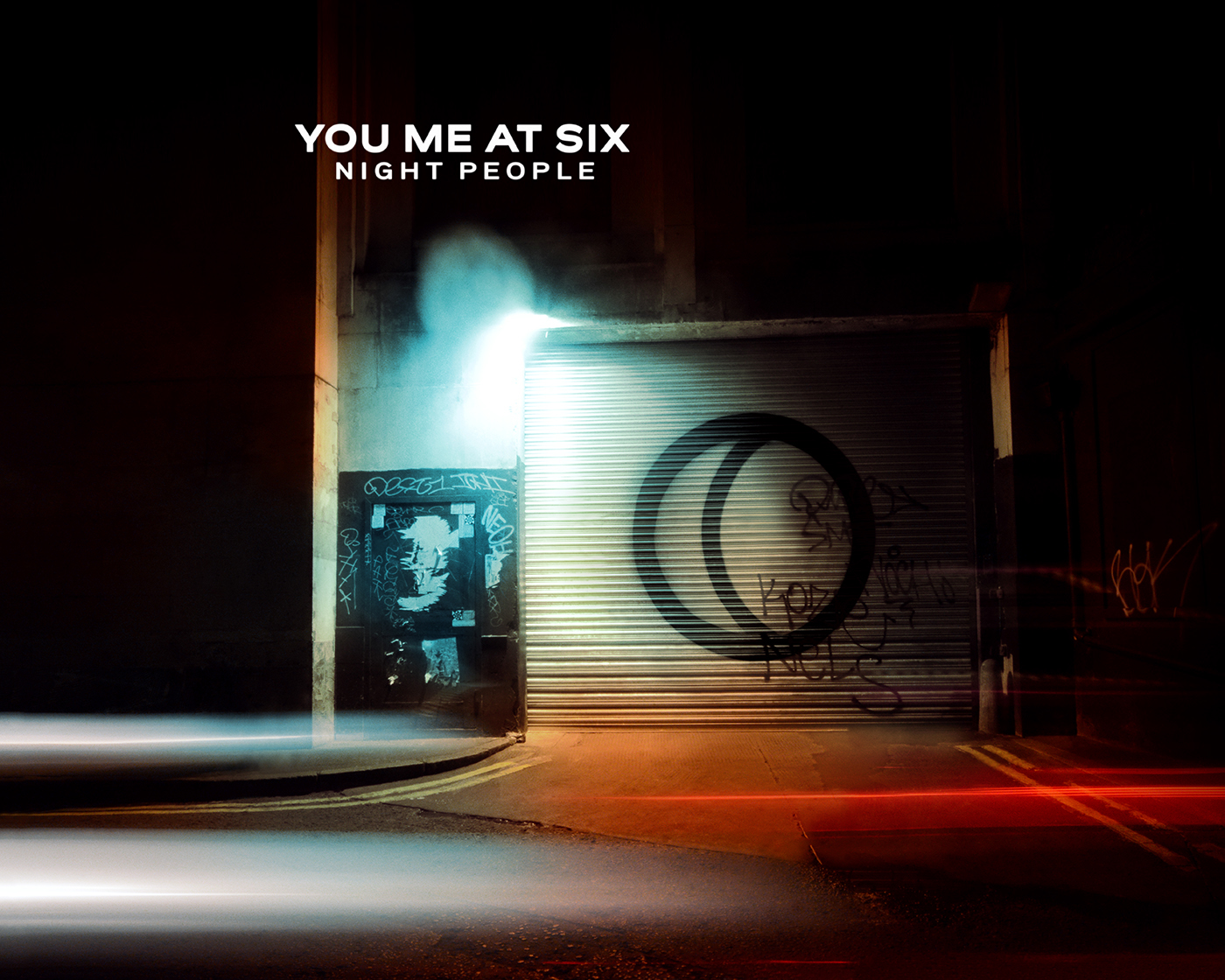You Me At Six Night People Album Cover Retouching On Behance