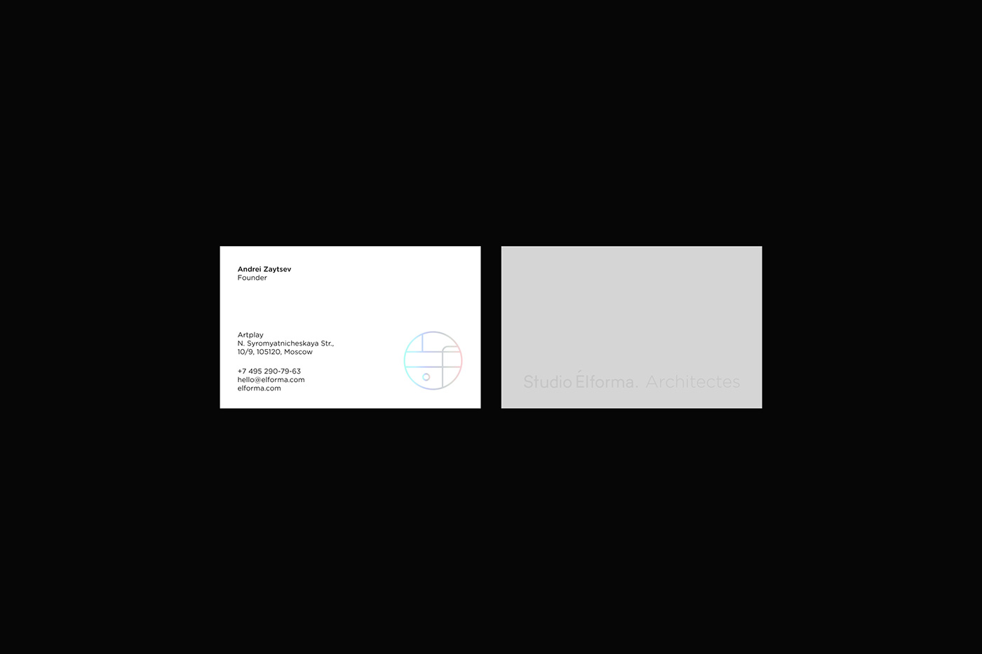 minimal clean architecture UI UI/UX site identity
